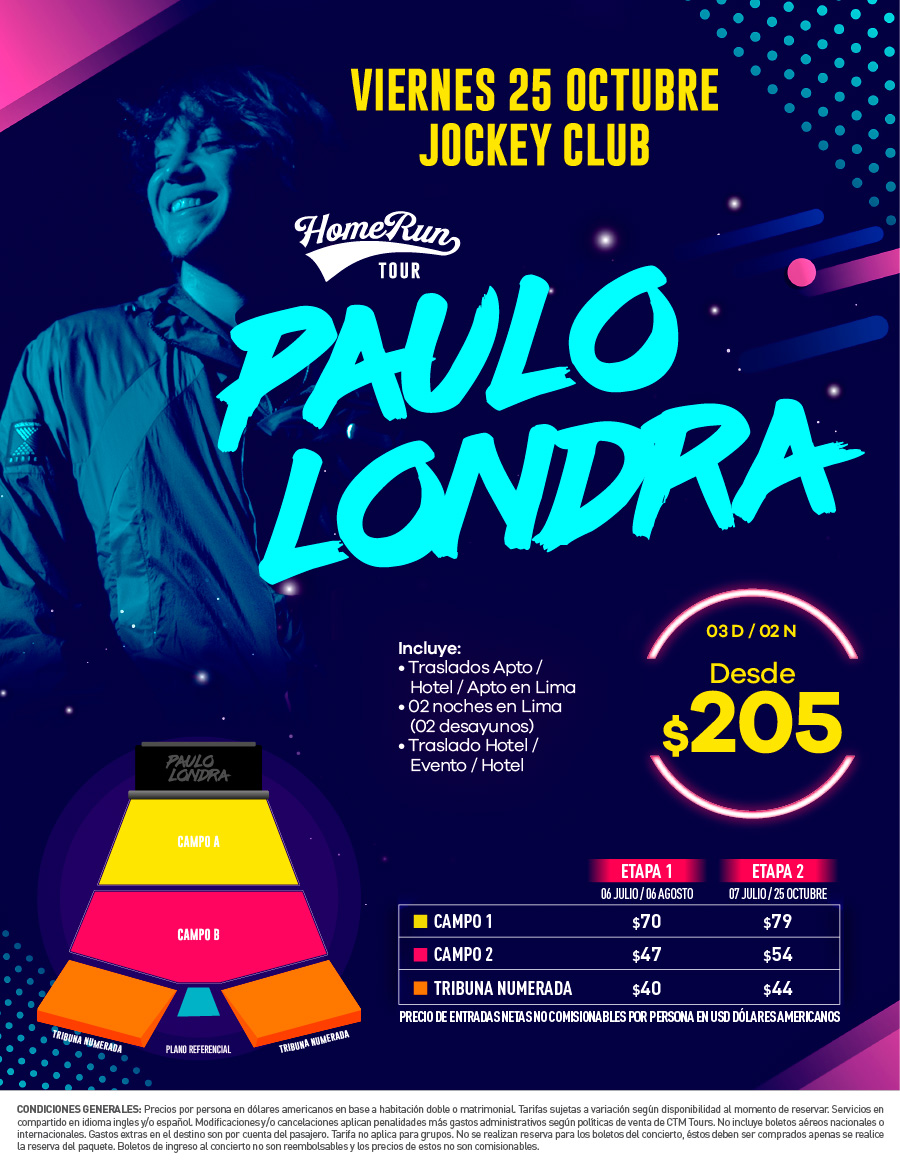 ¡Paulo Londra Home Run Tour!