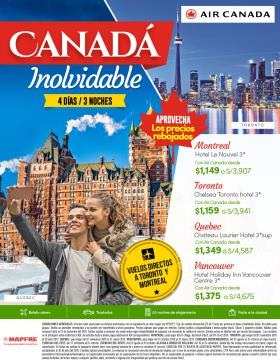 Canadá Inolvidable