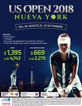US Open 2018 Nueva York