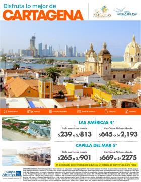 Disfruta lo mejor de Cartagena