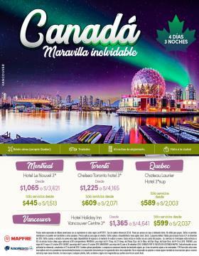 Canadá - Maravilla inolvidable