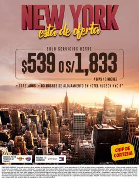 New York está de oferta
