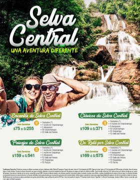 Selva Central, una aventura diferente.