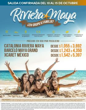 Riviera Maya en Grupo - Del 10 al 15 octubre