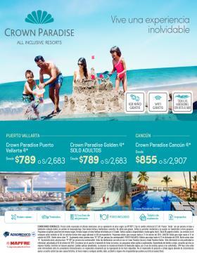 Vuelve a sonreir en familia - Crown Paradise