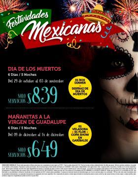 Festividades en México
