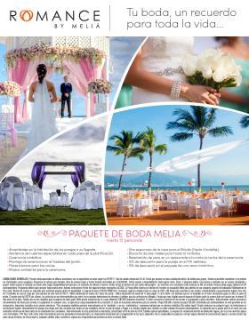 Tu boda, un recuerdo para toda la vida - Meliá