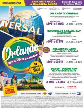 Promo Orlando - Avianca