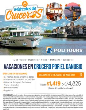 Vacaciones en Crucero por el Danubio - POLITOURS