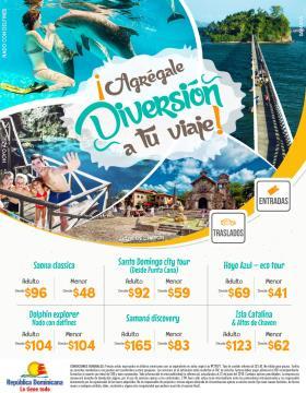 Agrégale diversión a tu viaje - excursiones Punta Cana