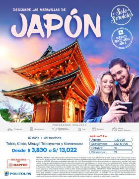 Descubre las maravillas de Japón - Solo Servicios