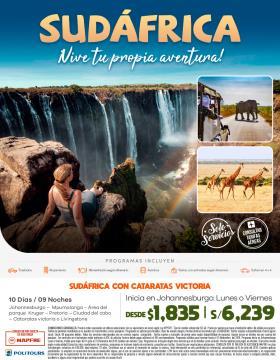 Sudáfrica ¡ Vive tu propia aventura !