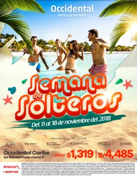 Semana de Solteros - Occidental Caribe