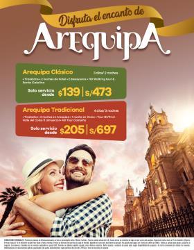 Disfruta el encanto de Arequipa