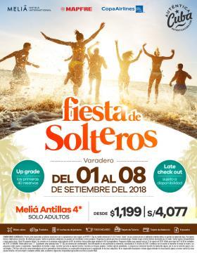 Semana de Solteros - Meliá Cuba