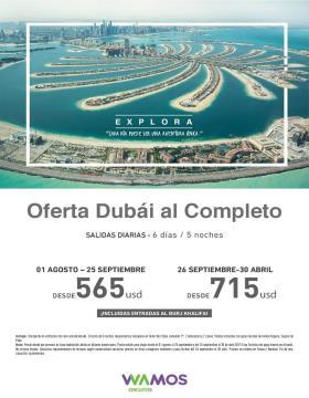 Oferta Dubái al Completo - Wamos