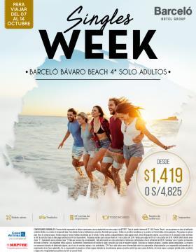 Semana de Solteros - Barceló Bávaro Beach