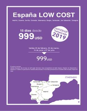 España Low Cost 2019 - Wamos