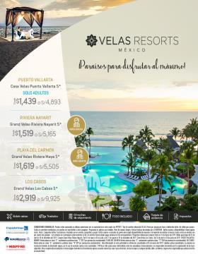 Paraíso para disfrutar al máximo - Velas Resorts