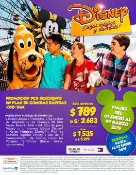 Promoción PCH - Disney