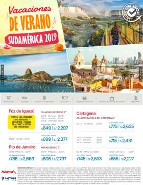 Vacaciones de Verano Sudamérica 2019