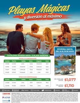Playas Mágicas y Diversión al Máximo - del 14 al 19 mayo