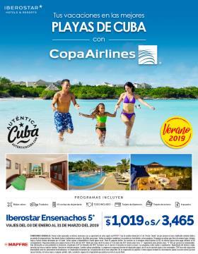 Cayo Ensenachos vía Copa Airlines
