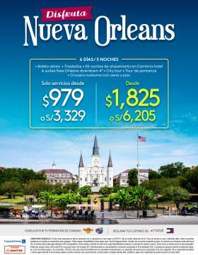 Disfruta Nueva Orleans