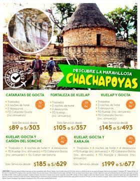Descubre la maravillosa Chachapoyas