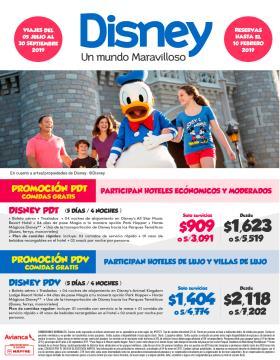 Promoción Disney PDT & PDV