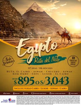 Egipto Ruta del Nilo