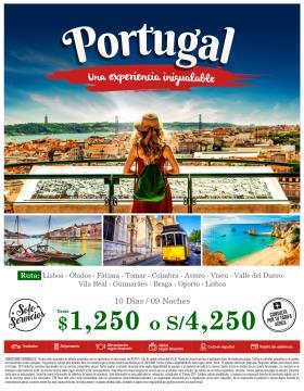 Portugal una experiencia inolvidable