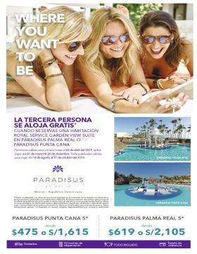 La tercera persona se aloja gratis - Paradisus by Meliá