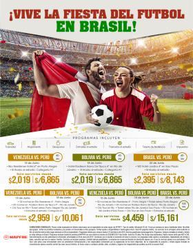 Vive la fiesta del fútbol en Brasil 2019