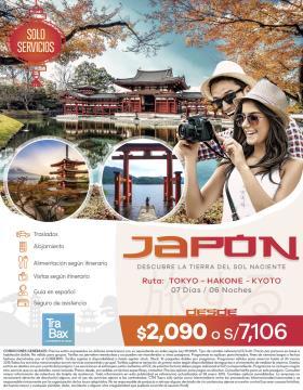Descubre la tierra del sol naciente - Japón