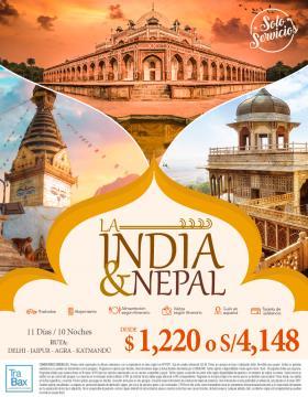 La india & Nepal