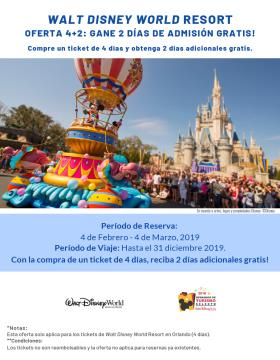 Promo Disney 4+2