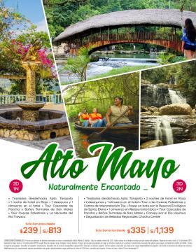 Alto Mayo - Naturalmente encantado