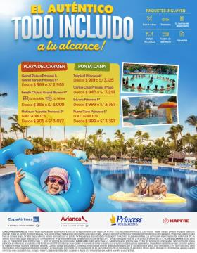 Princess Hotels & Resorts - Todo Incluido