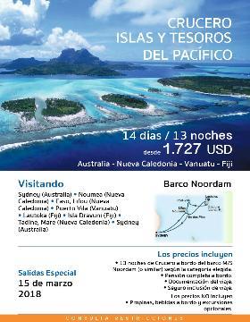 Crucero Isla y Tesoro del pacifico