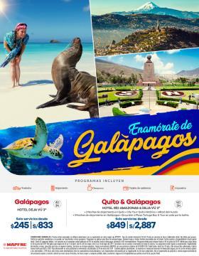 Enamórate de Galápagos