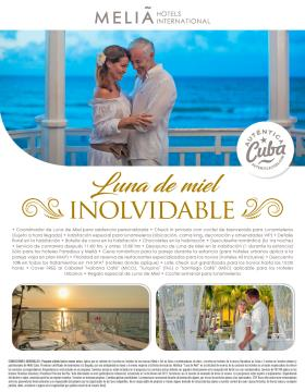 Luna de Miel Inolvidable - Meliá Cuba