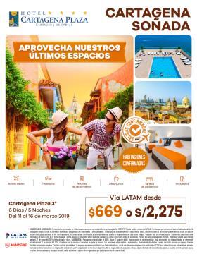 Cartagena Soñada del 11 al 16 marzo