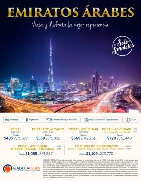 Emiratos Árabes - OP Galaxia Tours