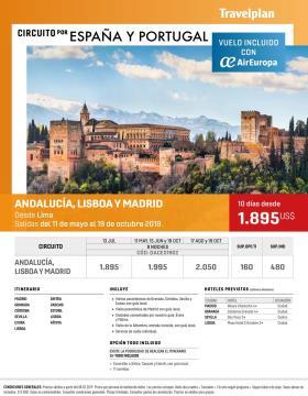 Circuito por España y Portugal con Travelplan