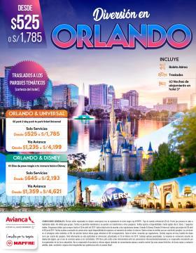 Diversión en Orlando y parques temáticos