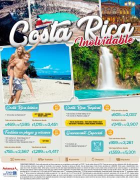 Costa Rica Inolvidable