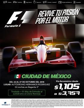 Fórmula 1 - Ciudad de México
