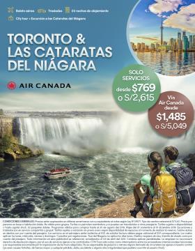 Toronto & las Cataratas de Niágara