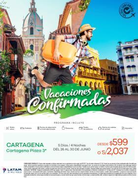 Vacaciones Confirmadas - Sudamérica (Mayo y Junio)